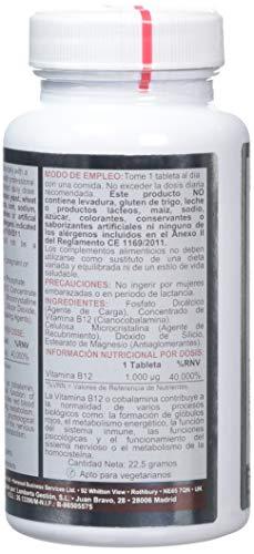 Airbiotic AB - Vit B12 AB Vitaminas para la depresión, anemia y neuropatías, 1000 mg: Amazon.es: Salud y cuidado personal