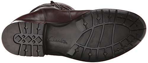 Clarks Plaza Plaza de arranque Brown Waterproof Leather
