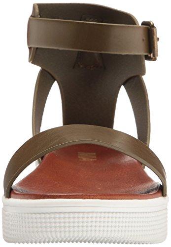 MIA Women's Ellen Flat Sandal Olive view sale online dzMGktbbj
