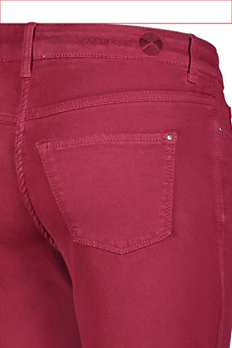 Dream Straight Skinny Rubino Donna Da Pantolon Rosso Mac 16qTgdq