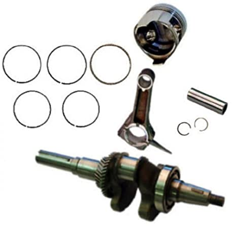Amazon honda gx390 roller kit with crankshaft piston rings honda gx390 roller kit with crankshaft piston rings con rod pin and clips gx 390 sciox Gallery
