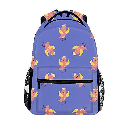 Cute Birds Backpack for Kids School Laptop Backpack