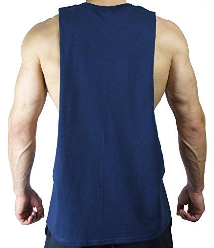 fc22c66d Repps Apparel Sleeveless Sideless Muscle Gym Workout Singlets Tank Top Shirt
