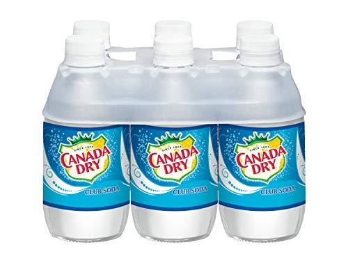 Canada Dry Club Soda, 10 Fluid Ounce Plastic Bottle, 6 Count