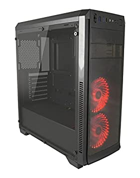 LC-Power Gaming 990B - Concorde Midi-Tower Negro carcasa de ordenador - Caja