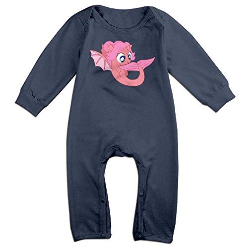 - CAPA Baby A Hippocampus Long Sleeve Bodysuit Cozy Jumpsuit Navy 24 Months