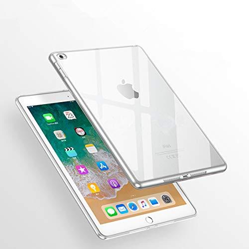 (Apple iPad Air 2 Case, iCoverCase Ultra-thin Gel Silicone Back Cover Clear Plain Soft TPU Gel Rubber Skin Case Protector Shell for Apple iPad Air 2 / iPad 6 (9.7