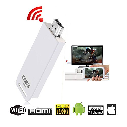 Wireless Display Adapter Android Apple iOS Support Miracast V2 Screen Mirroring HDMI Wifi