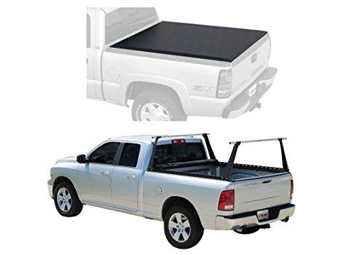 Access 3000054 Tonneau Cover & Bed Rack Bundle for Ram 1500 2500 3500 w/6'-4