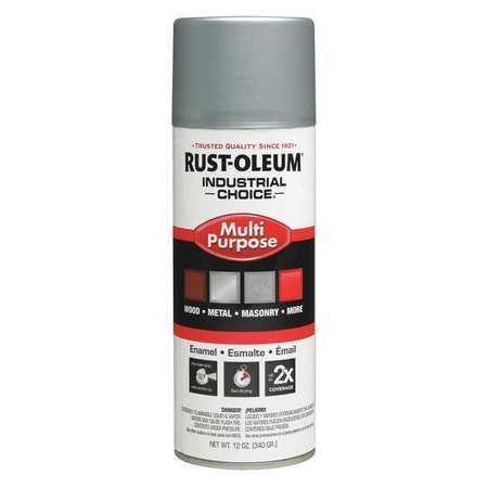Spray Paint, Dull Aluminum, 12 oz.