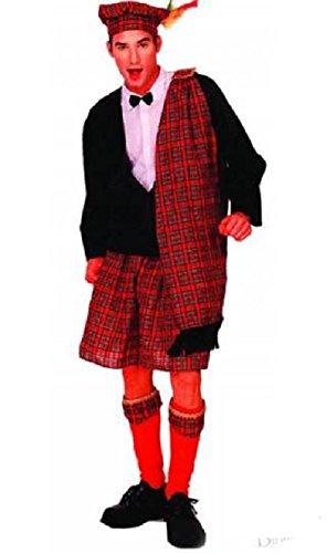 ATOSA Disfraz de Escocés para Hombre. Talla única. Incluye ...