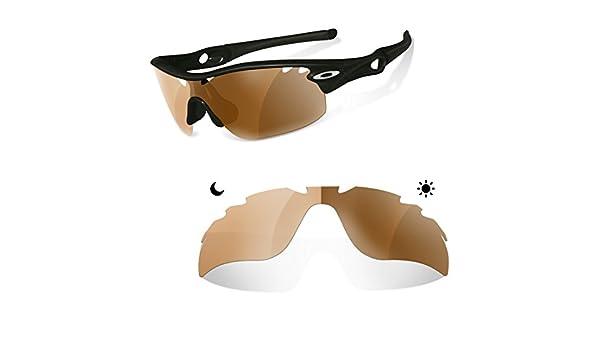 45ff255670 Sunglasses Restorer Lentes Fotocromaticas Polarizadas Marron 30- 45 % de  Recambio para Oakley Radarlock Ventilada