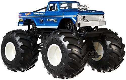 Hot Wheels GBV32 - Monster Trucks 1:24 Spielzeugauto Die-Cast Bigfoot, Spielzeug ab 3 Jahren