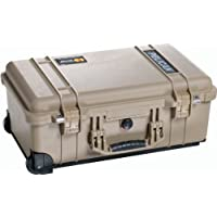 Pelican 1510 Laptop Overnight Case With Padded Dividers (Desert Tan)