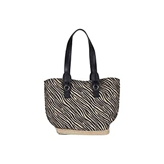 Vince Camuto Elsy Tote Zebra One Size