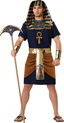 InCharacter Adult Mens Pharaoh Egyptian Costume -