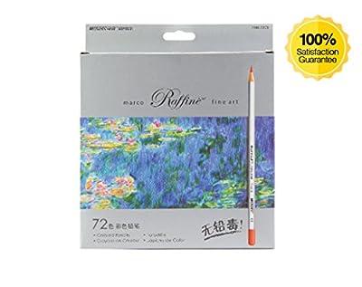 72-color Art Colored Pencils Drawing Pencils for Artist Sketch Secret Garden (72)