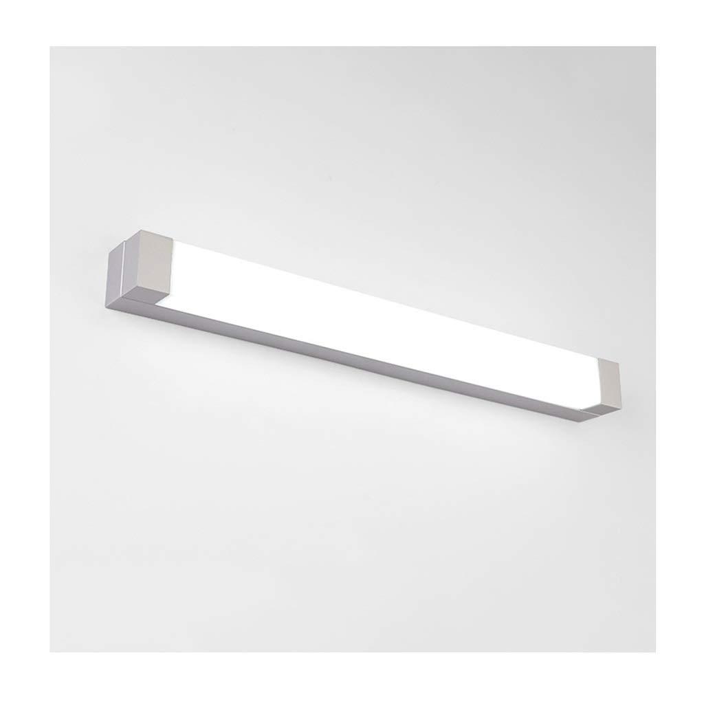 レンズライト Ledミラーフロントライト浴室の壁ランプ化粧台ミラーランプ防水防曇シンプルなスタイル バスルームライト (色 : 白色光, サイズ さいず : 72 cm 72 cm) B07RLG641V 白色光 72 cm 72 cm