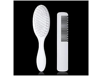 JwlqAy Útil 2 piezas bebé niños cepillo de pelo peine herramienta de ...
