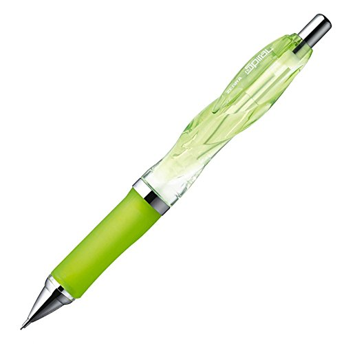 Zebra NuSpiral CC 0.5mm Lead Mechanical Pencil, Clear Light Green Body (MA51-CLG)