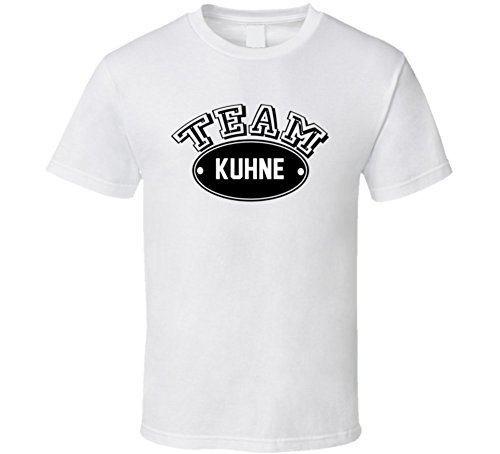 team-kuhne-family-reunion-last-name-sports-t-shirt-xl-white