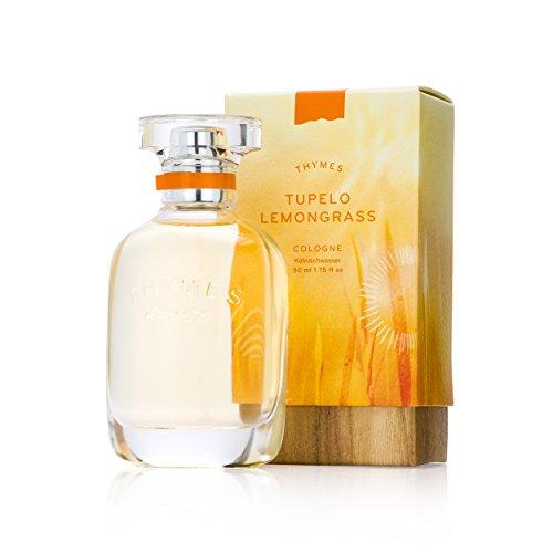 Thymes - Tupelo Lemongrass Cologne - Fresh and Energizing Citrus Fragrance - 1.75 oz (Best Lemon Scented Perfume)