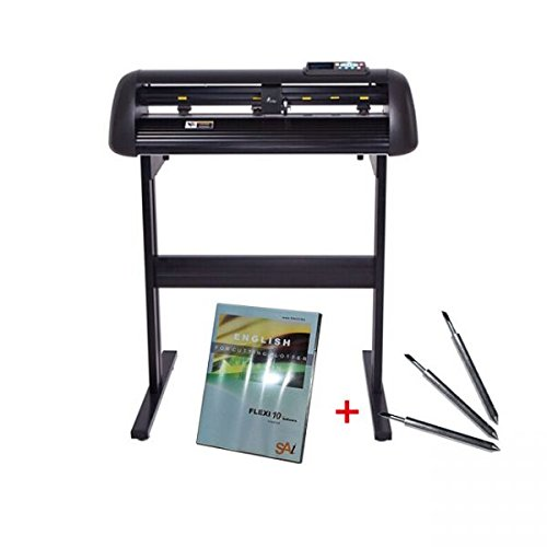 24'' Vicsign Vinyl Cutter with CCD Camera, Full Auto Contour Cut Function by Ving