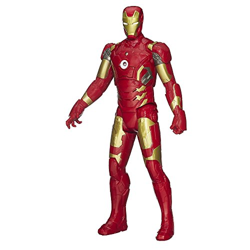 Marvel Avengers Age of Ultron Titan Hero Tech Iron Man 12 Inch Figure (Avengers Age Of Ultron Titan Hero Tech)
