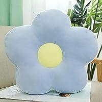 GYFDC 1PC 40cm Lovely Fresh Colorful Flower Plush Pillow Toy Soft Cartoon Plant Stuffed Doll Chair Cushion Sofa Kids…
