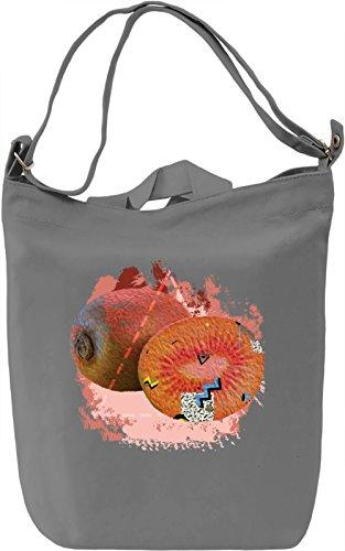 Kiwi Madness Borsa Giornaliera Canvas Canvas Day Bag| 100% Premium Cotton Canvas| DTG Printing|