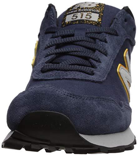 New Balance Men's 515 V1 Sneaker, Nb Navy/Light Aluminum, 7 XW US