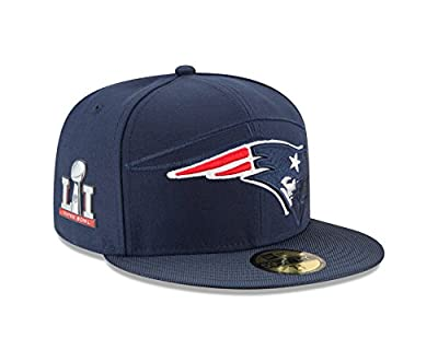 New England Patriots New Era Super Bowl Li (51) 59fifty Side Patch Fitted Hat