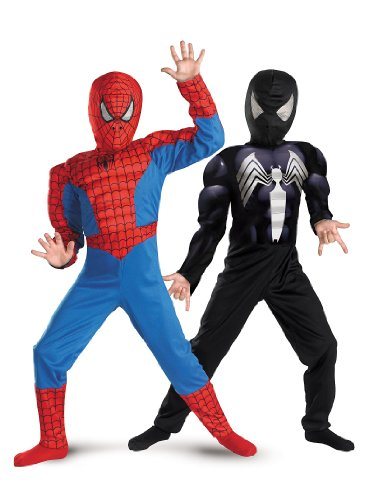 Disguise Marvel Spider-Man Reversible SpiderMan Boys Costume, 4-6