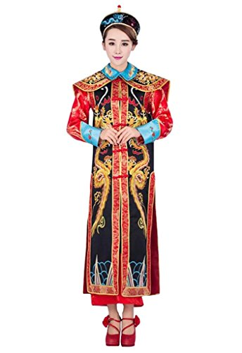 springcos Cosplay Fancy Dress Women Chinese Costume Empress Consort Dragon