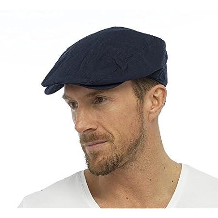 Tom Franks Mens Cotton Linen Lightweight Vintage Style Flat Cap 41kE8HPZOiL