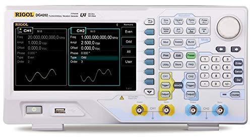 Rigol DG4202 Function/Arbitrary Waveform Generator 200MHz