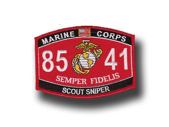 Scout Sniper Marine Corps MOS 8541 5