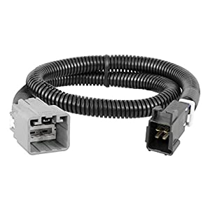 CURT 51458 Quick Plug Electric Trailer Brake Controller Wiring Harness for for Select Ram 1500, 2500, 3500