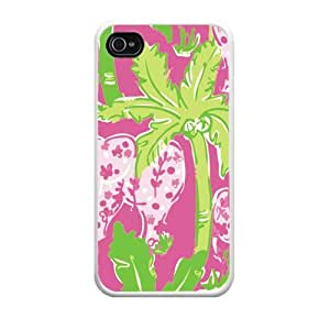 Lilly Pulitzer Case for Iphone4/4s, Iphone4/4s Case [Wireless Phone Accessory]