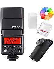 Godox TT350S Speedlite Reportageflitser voor Sony, GN36 Ondersteuning van TTL,High Speed Synchronisatie met 1/8000s,Automatisch of handmatig zoomen van 24-105mm