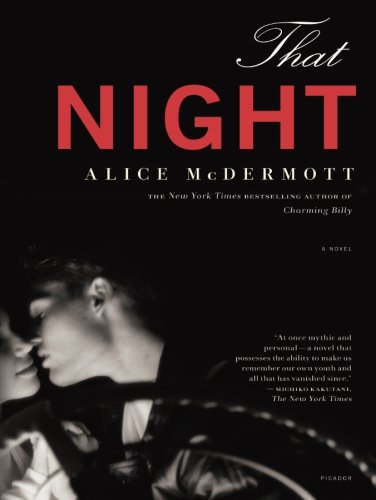 Mahogany Contemporary Mirror - That Night: A Novel