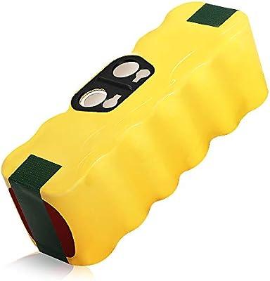 Bsioff 14.4V 4500mAh Ni-MH Aspiradoras de repuesto Batería para iRobot Roomba 500 600 700 800: Amazon.es: Hogar