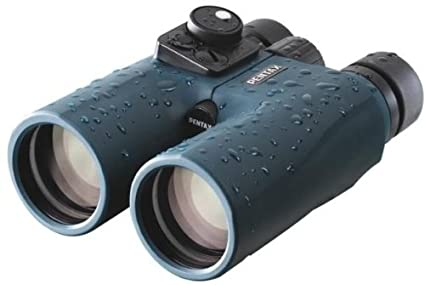 Pentax marine fernglas mit kompass blau amazon kamera