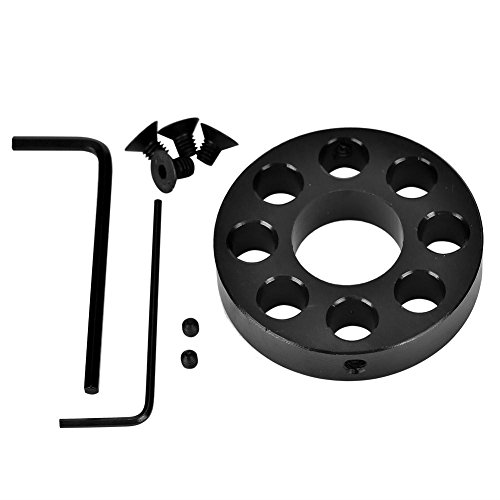 Vbestlife Front End Cap,Aluminum Alloy Front End Cap with Screws Wrenches for Free Float Quad (Free Float Quad Rail)