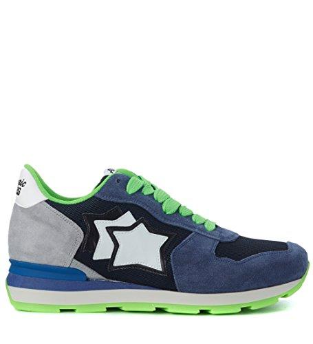 atlantic-stars-mens-sneaker-atlantic-stars-antares-in-suede-grigio-e-blu-e-tessuto-45it-12us-blue