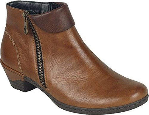 00 Rieker 76961 Boot Womens Black Ankle Cristallin ZSSqP6