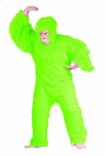 RG Costumes Men's Plus-Size Lime Green Gorilla