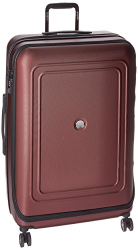 DELSEY Paris Luggage Cruise Lite Hardside 25 inch Expandable Spinner Suitcase with Lock, Black Cherry