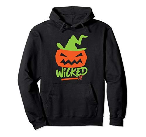 Wicked AF Jack O Lantern Witch Hat Pumpkin