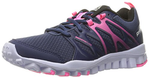 Blue Reebok Pink 0 Cross Realflex Train 4 Shoe Lucid Women's Poison Lilac Black Trainer Ink nrpFnx8